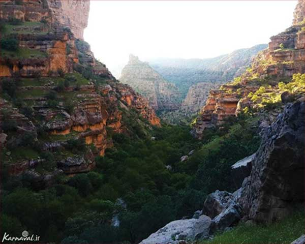 سفر به دره شیرز | shirez