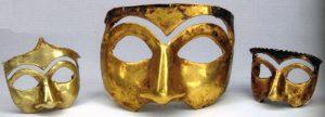 نقابهای یافته شده از غار کلماکره